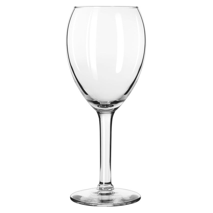 Libbey 8412 12 oz Citation Gourmet Tall Wine Glass - Safedge Rim Guarantee