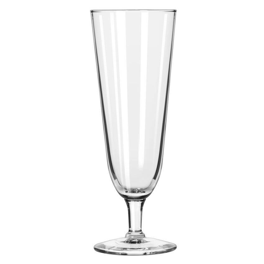 Libbey 8425 12-oz Citation Footed Pilsner Glass - Safedge Rim Guarantee