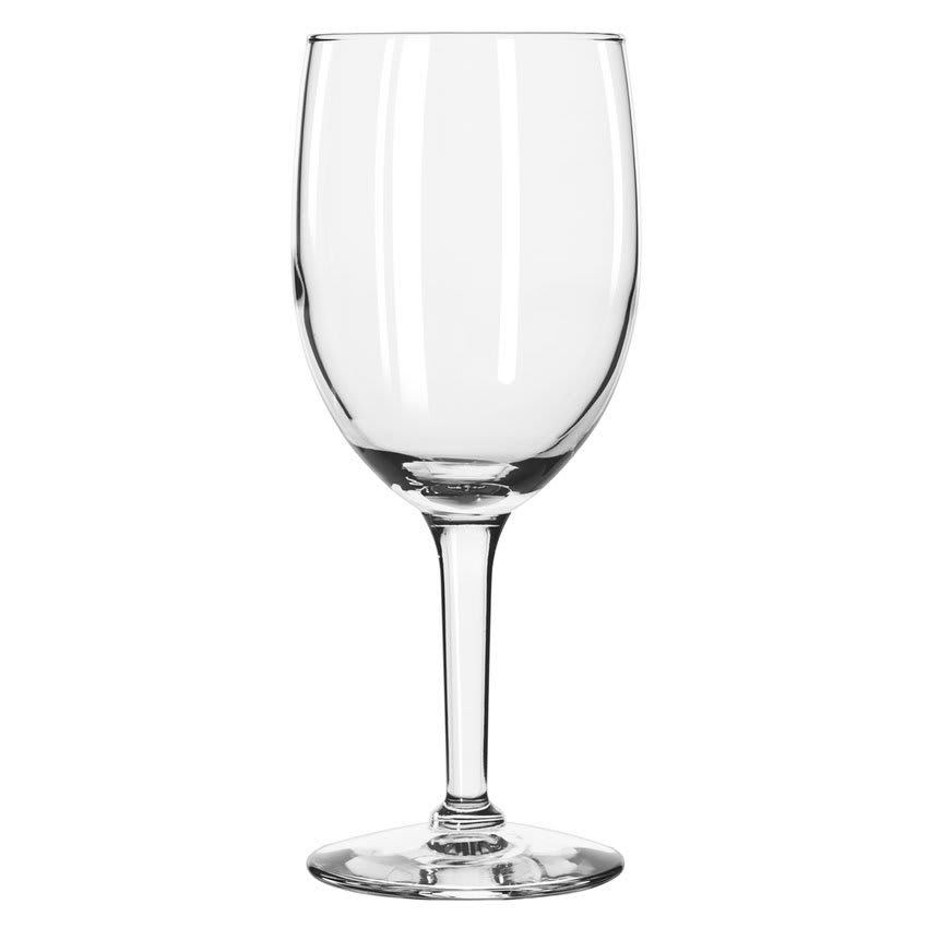 Libbey 8456 10-oz Citation Goblet Glass - Safedge Rim Guarantee