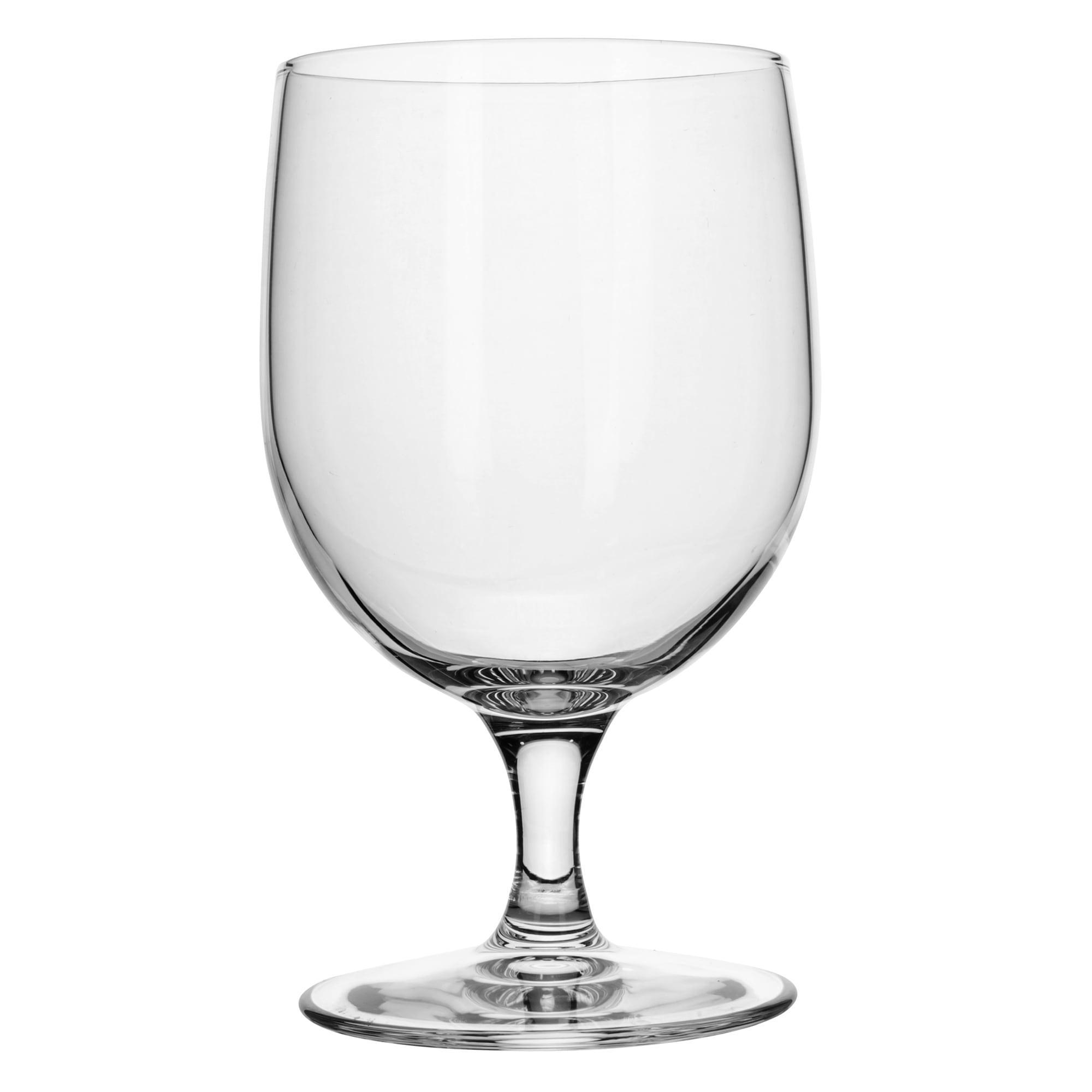 Libbey 8556SR 12 oz Bristol Valley Goblet Glass - Sheer Rim