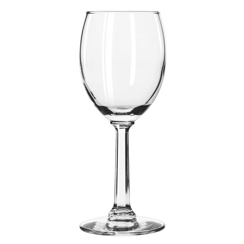 Libbey 8766 6.5 oz Napa Country Tall Wine Glass - Safedge Rim Guarantee