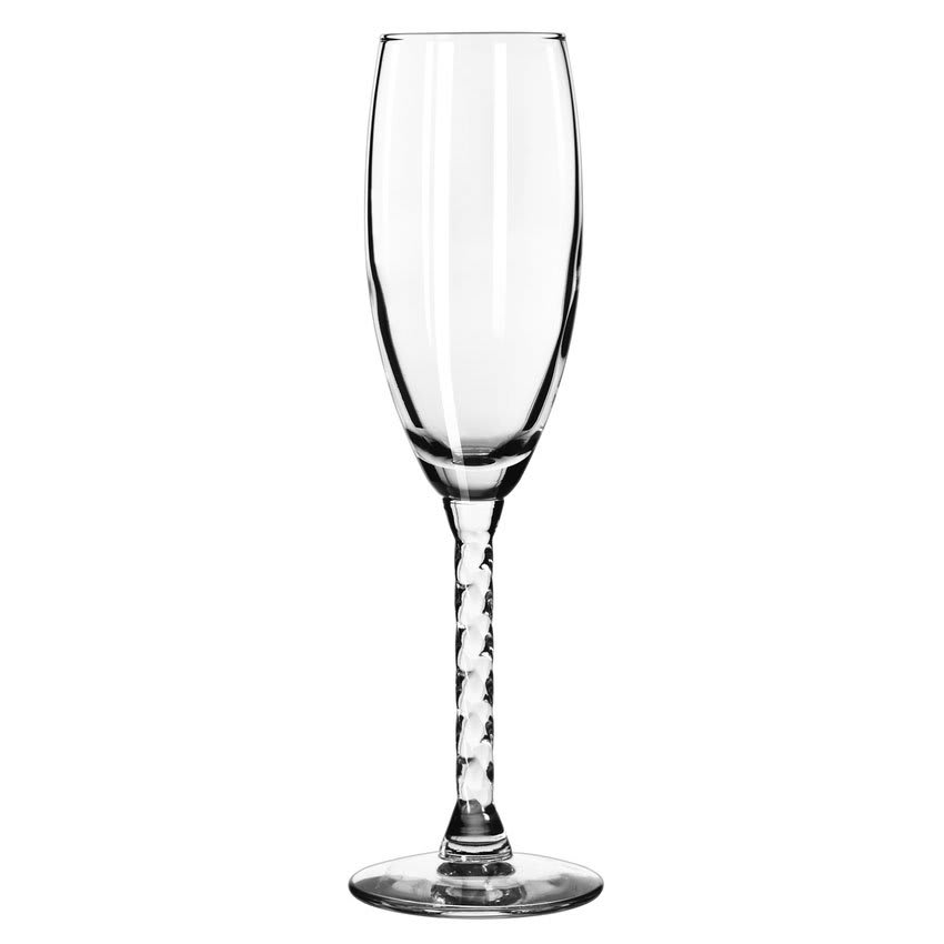 Libbey 8895 5.75 oz Revolution Flute Glass - Safedge Rim Guarantee
