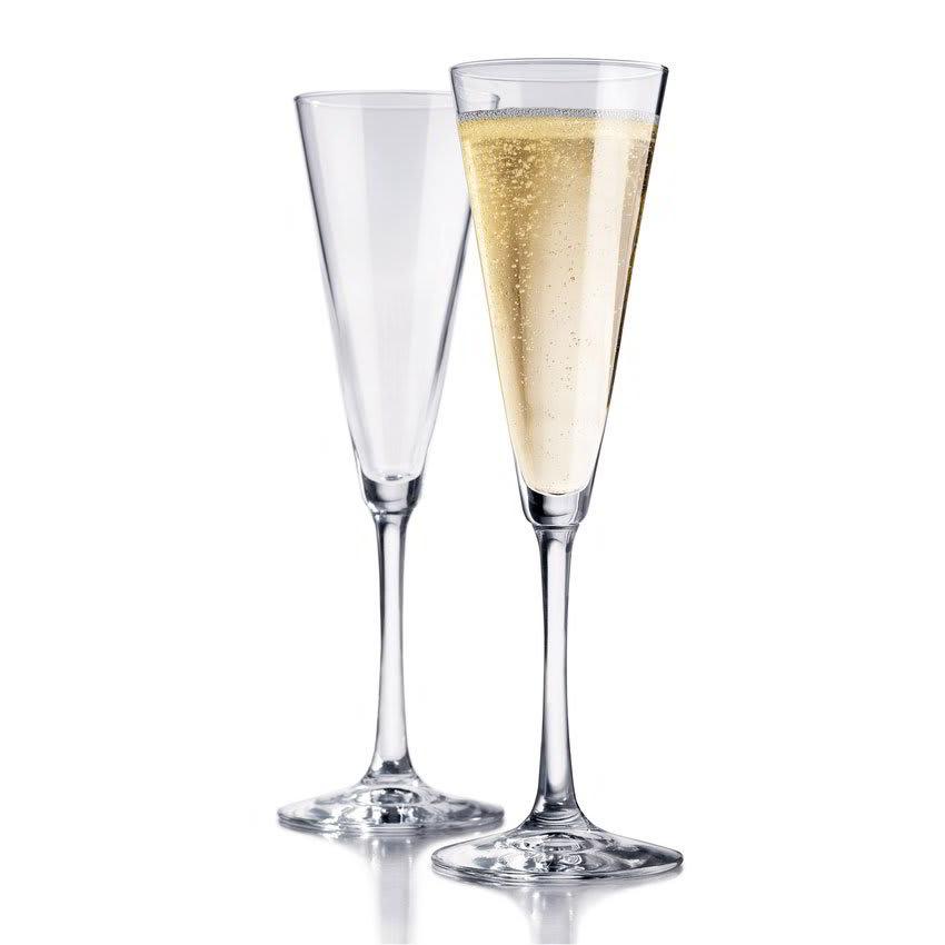 Libbey 89554 Vina Trumpet Flute Set w/ 6-Stemmed Glasses
