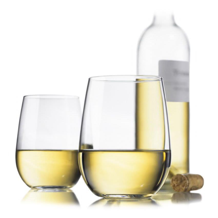 Libbey 89694 Vina White Wine Set w/ 4 Stemless Glasses