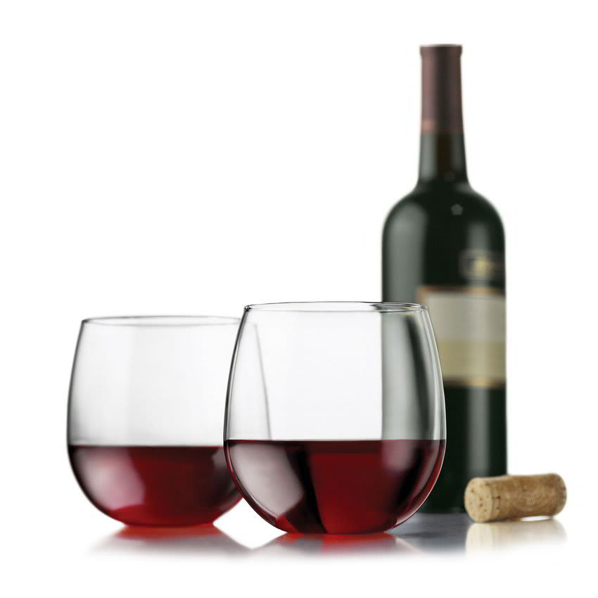 Libbey 89695 Vina Red Wine Set w/ 4 Stemless Glasses