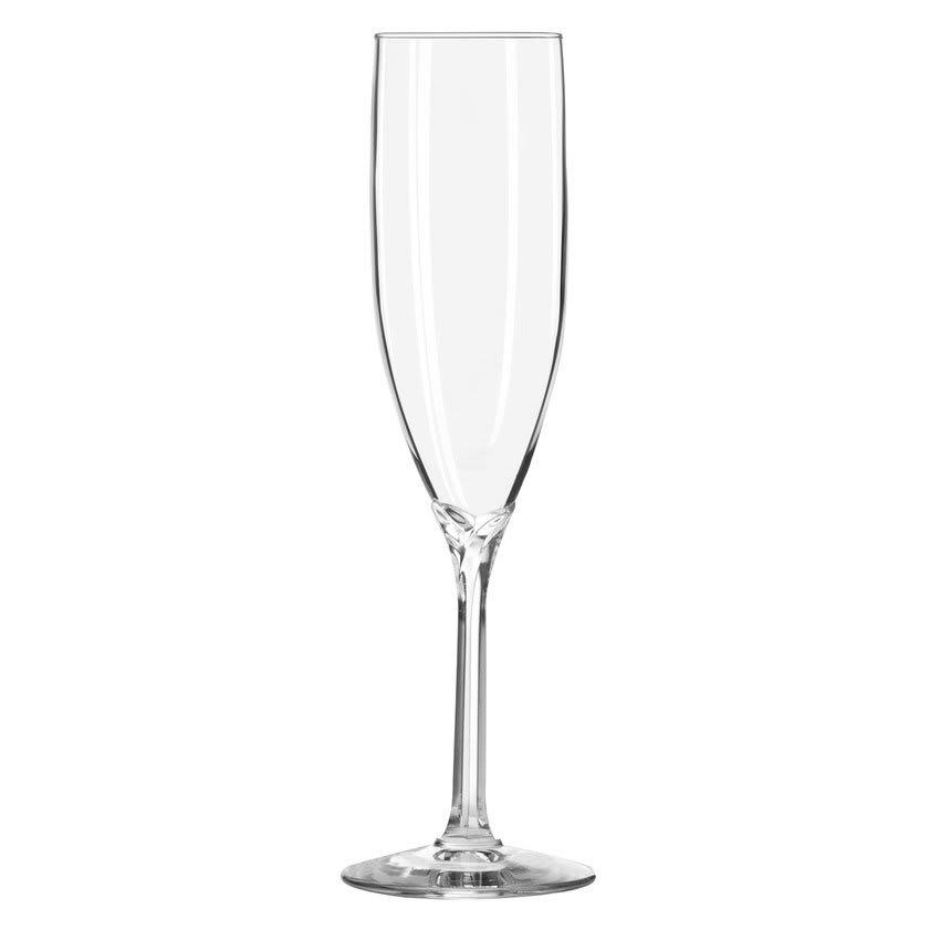 Libbey 8995 6 oz Domaine Flute Glass - Safedge Rim Guarantee