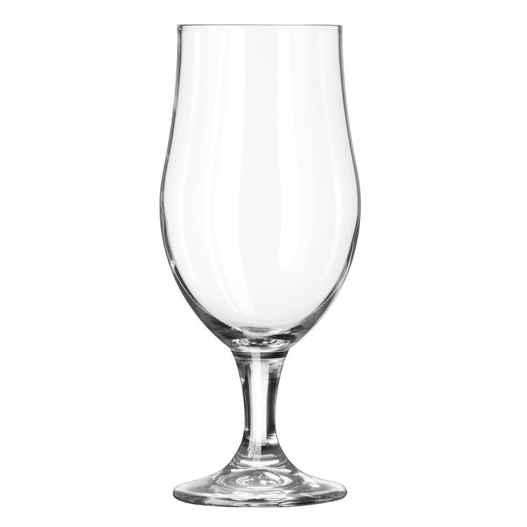 Libbey 920284/69292 16.5 oz Munique Fizzazz Beer Glass - Nucleation Etching