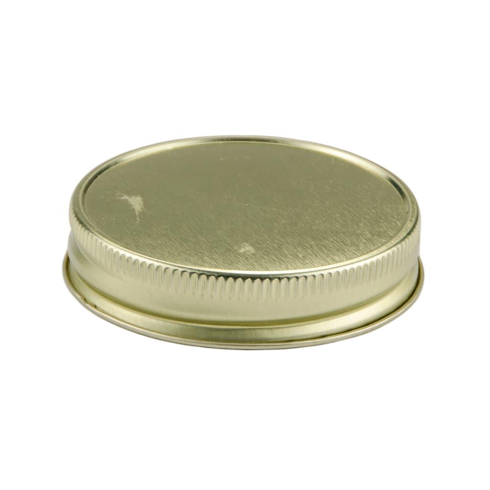 Libbey 92136 Drinking Jar Lid for 16oz Jars, Gold, Metal