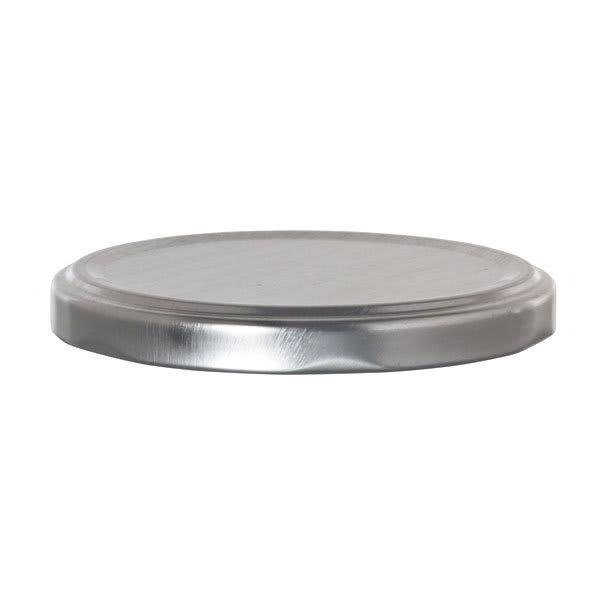 "Libbey 92161 Silver Metal Lid for 3"" Jars w/ Plastisol Liner"