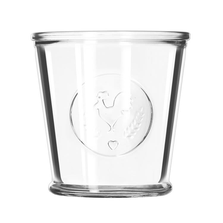 Libbey 92181 12-oz FarmHouse Glassware, Rooster Design, Perfect for Tabletop Presentation