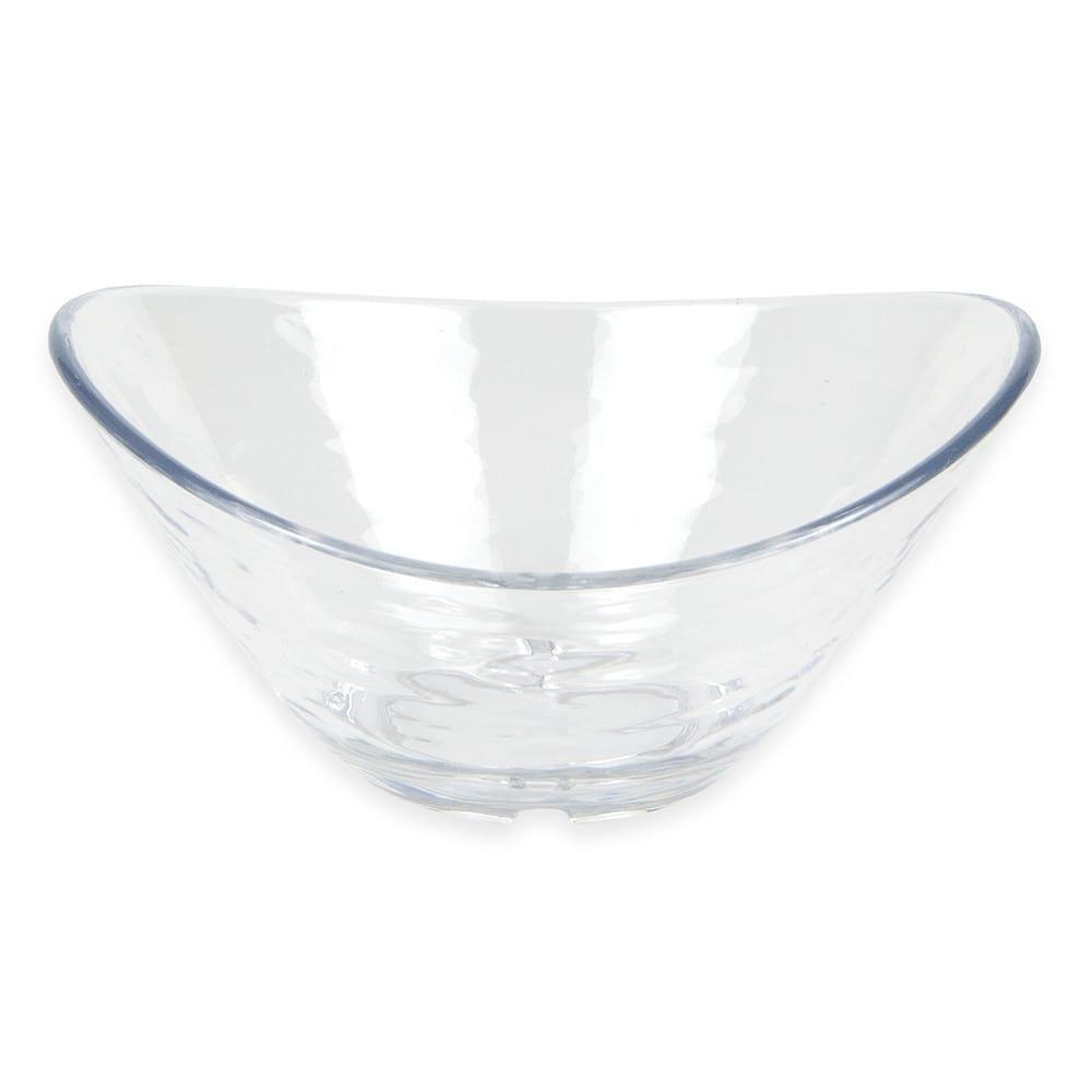 """Libbey 92394 Oval Dip Dish, 4.5"""" x 3.625"""" x 2"""", Plastic"""