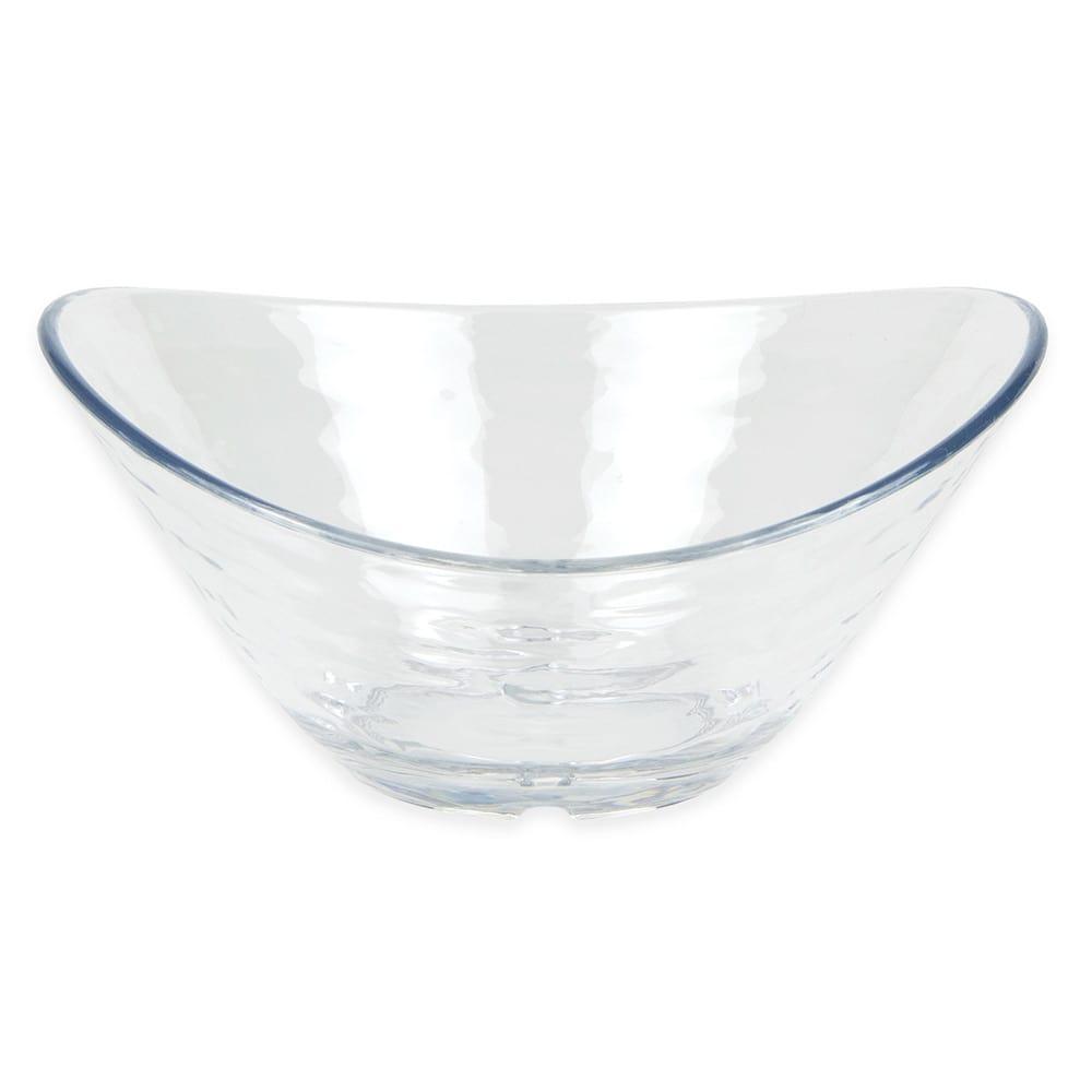 "Libbey 92396 Oval Snack Bowl, 5.125"" x 4.5"" x 2.375"", Plastic"
