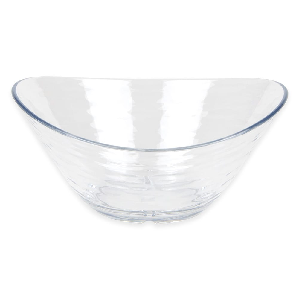 "Libbey 92397 Oval Snack Bowl, 6.25"" x 5.625"" x 2.875"", Plastic"