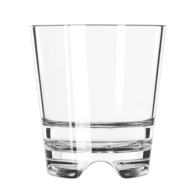 Libbey 92402 8-oz Infinium Rocks Glass, Plastic