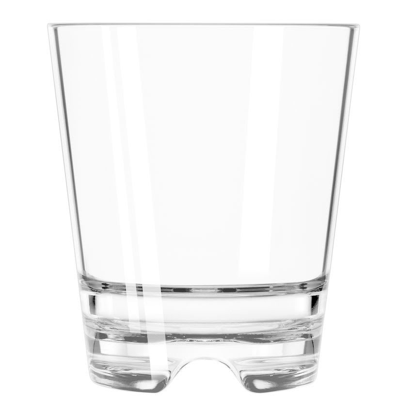 Libbey 92409 14 oz Infinium Double Old Fashioned Glass, Tritan Plastic