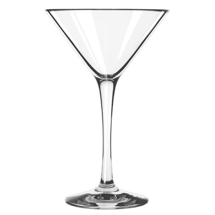 Libbey 92412 8 oz Infinium Martini Glass, Tritan Plastic