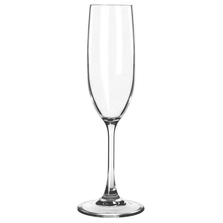 Libbey 92415 6.5 oz Infinium Flute Glass, Plastic
