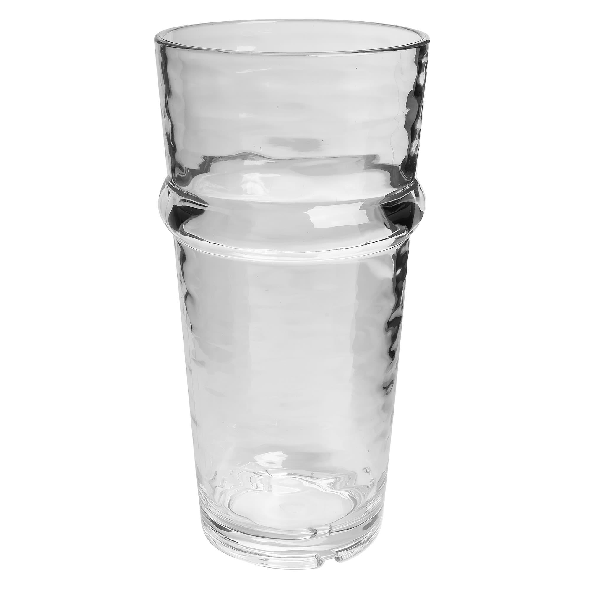 Libbey 92431 12 oz Beverage Glass, Wake™, Clear Plastic