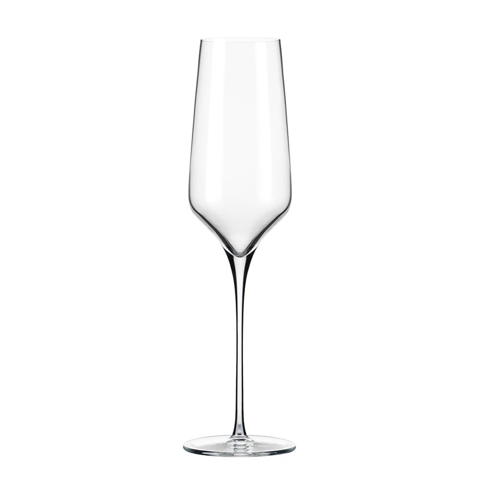 Libbey 9332 8 oz Prism Champagne Flute