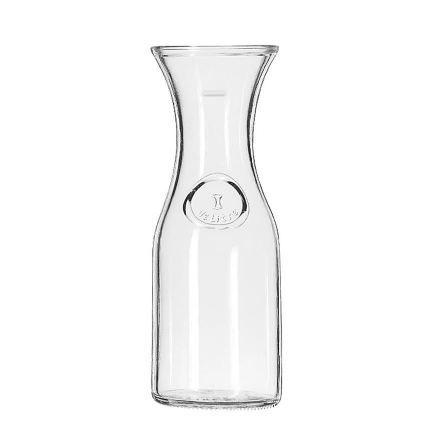 how to clean a cloudy wine decanter