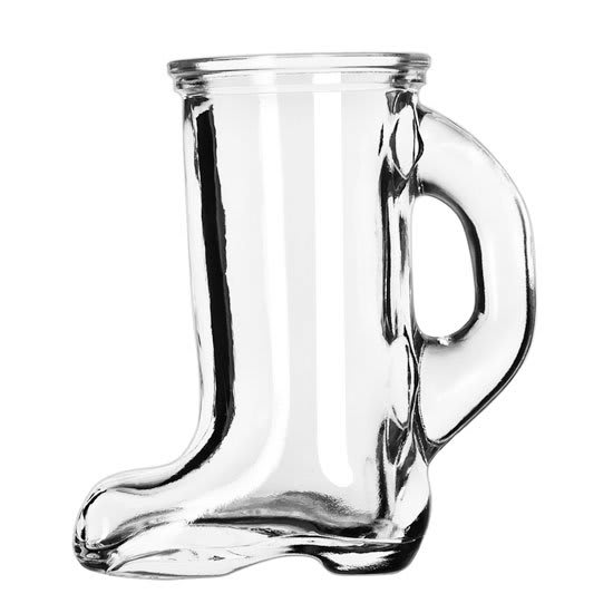Libbey 97038 1.5-oz Bolla Grande Collection Boot-Shaped Shot Glass