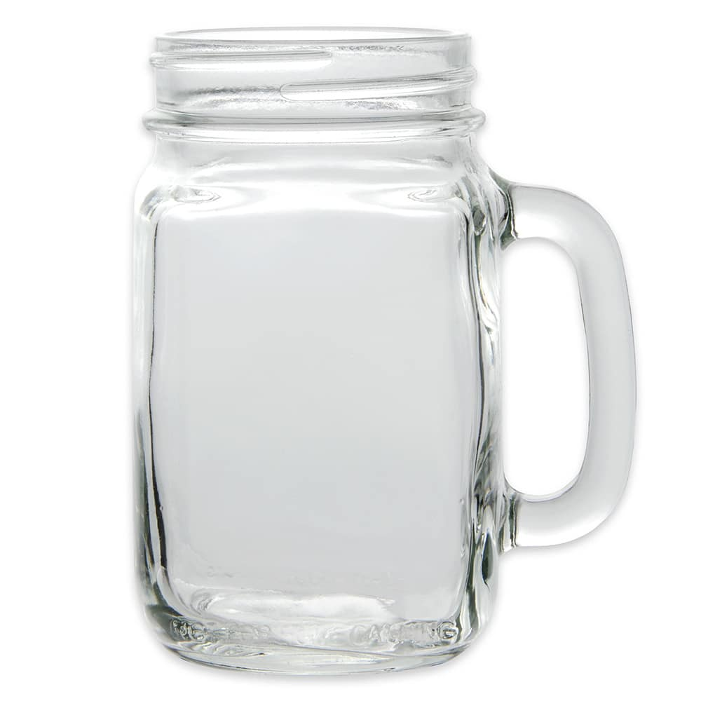 Libbey 97084 16.5 oz County Fair Plain Panel Drinking Jar