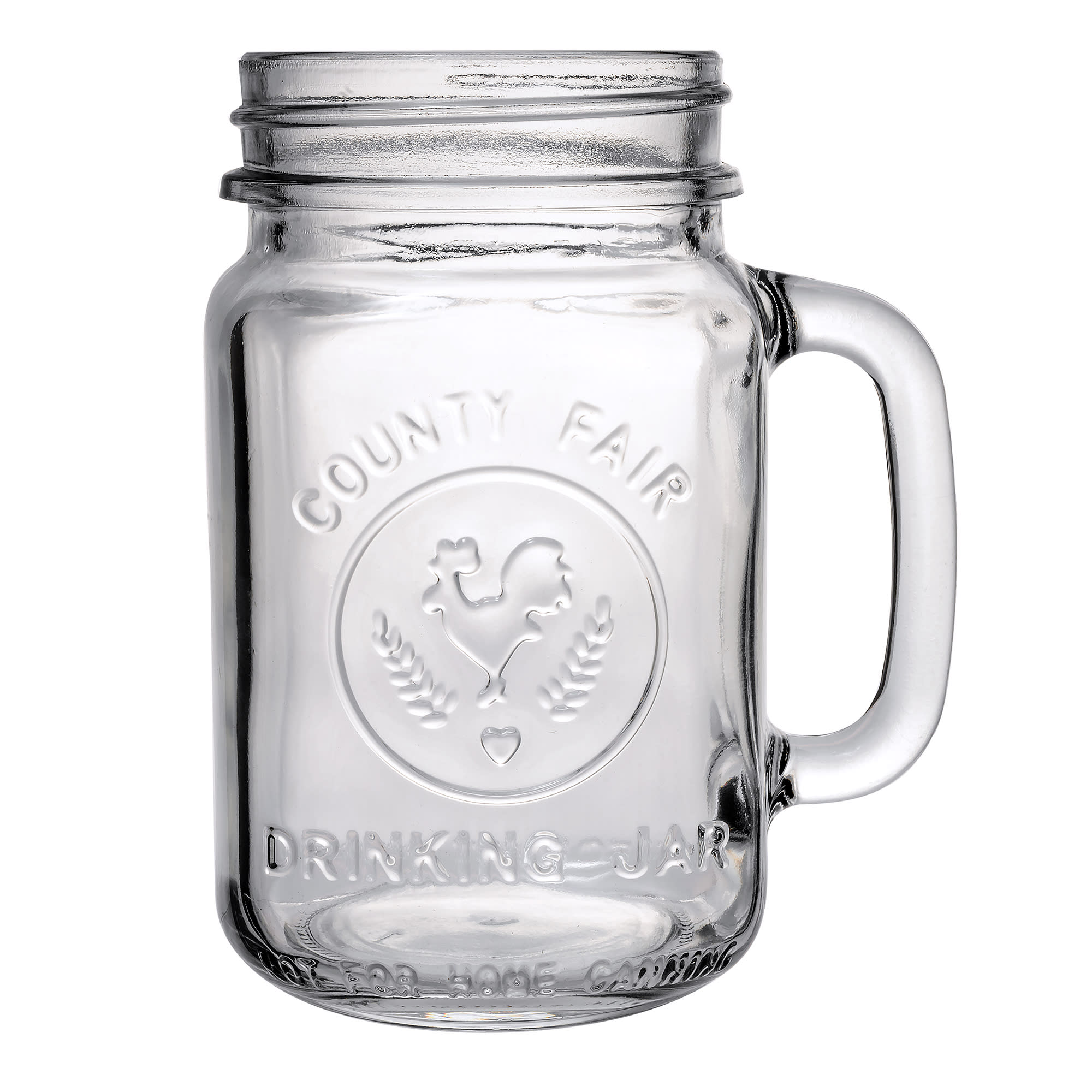 Libbey 97085 16.5-oz County Fair Drinking Jar