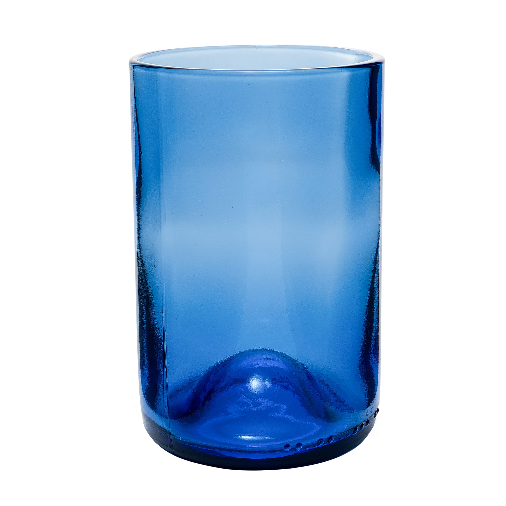 Libbey 97285 12 oz Double Old Fashioned Glass, Blue