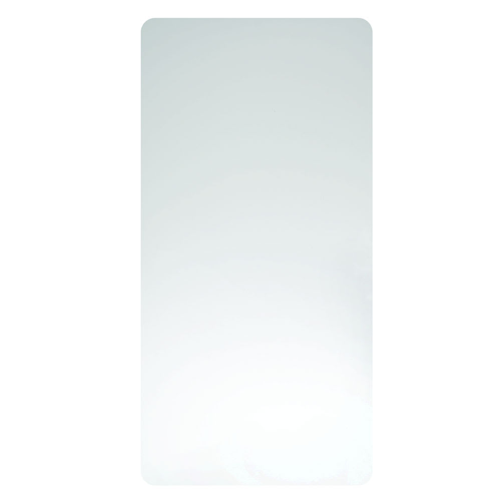 "Excel Dryer 89W Wall Guard for Xlerator Hand Dryers - 31.75"" x 15.75"", Plastic, White"