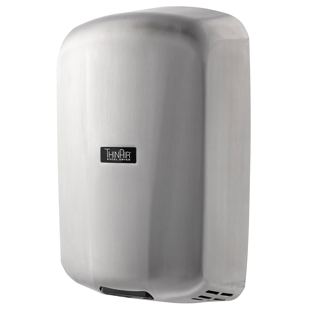 Excel Dryer TA-SB Automatic Hand Dryer w/ 14-sec Dry Time - Stainless, 110-120v