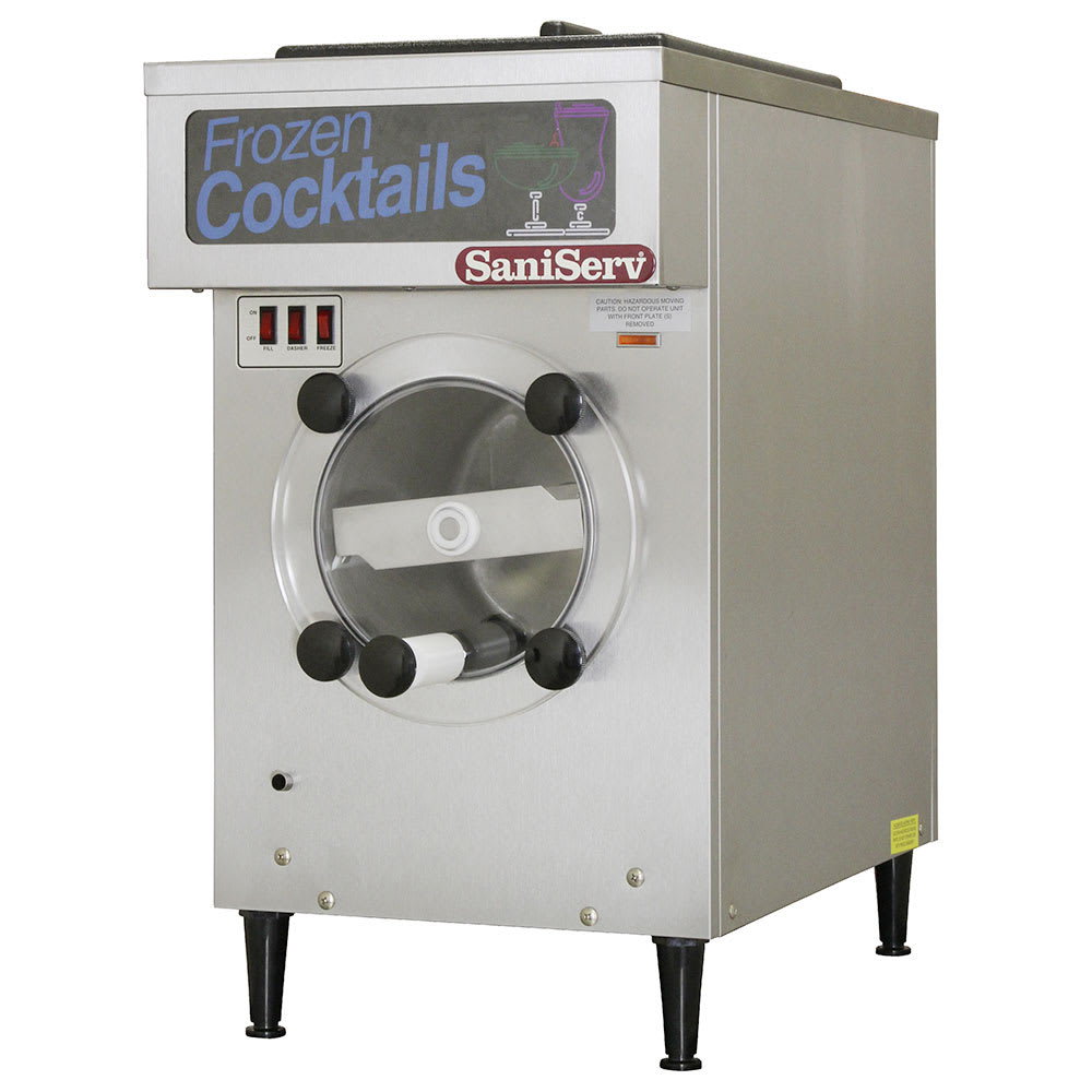 Saniserv 108RAF Frozen Cocktail Beverage Freezer, 16 Gal/Hr, Remote Auto Fill