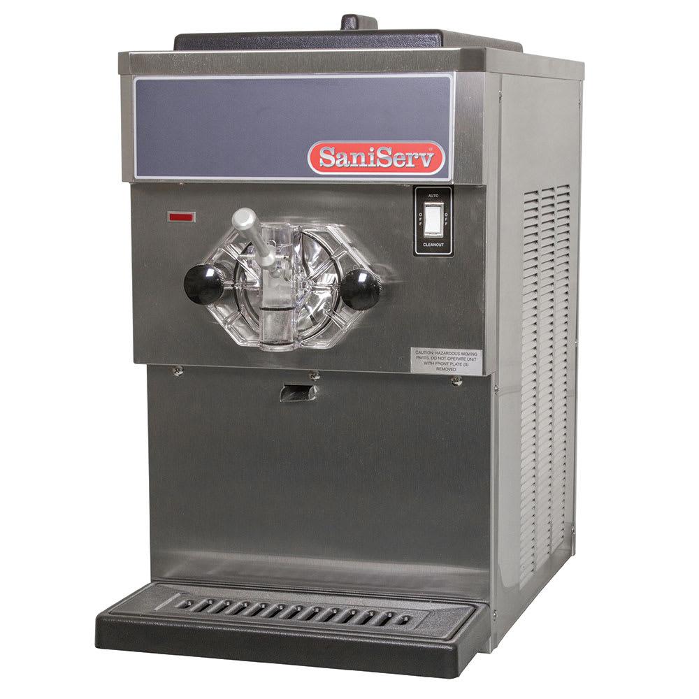 Saniserv 608 Countertop Shake Freezer, 1 Head, 3/4 HP Compressor, 115V/60/1, NSF