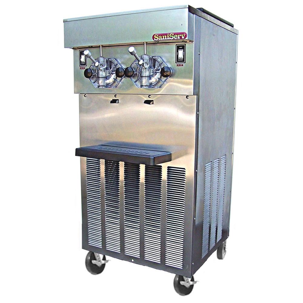 Saniserv 624-FREEZER Floor Model Shake Freezer, 2 Head, 2 HP Compressor, 208 230/60/3, NSF