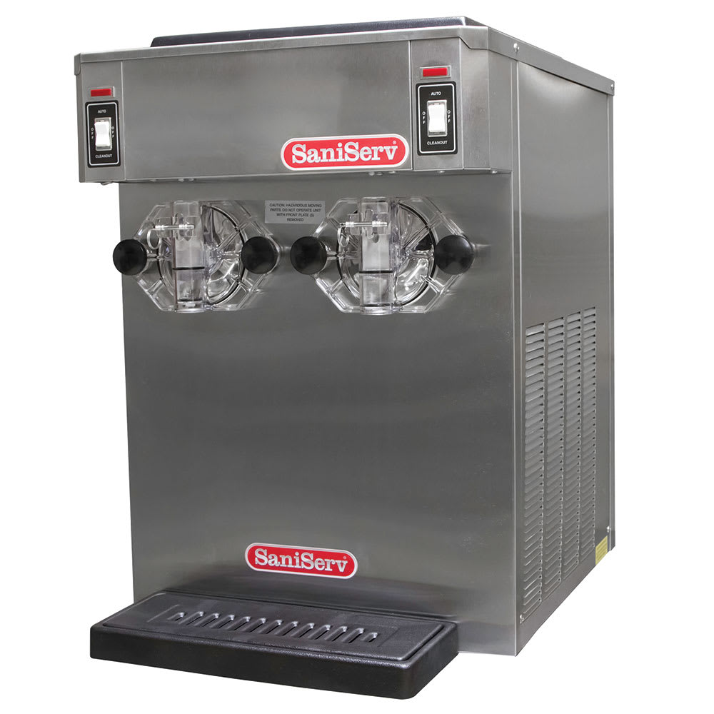 Saniserv 691-FREEZER Counter Shake Dispenser, 2 Head, 1 HP Compressor, 208 230/60/3, NSF