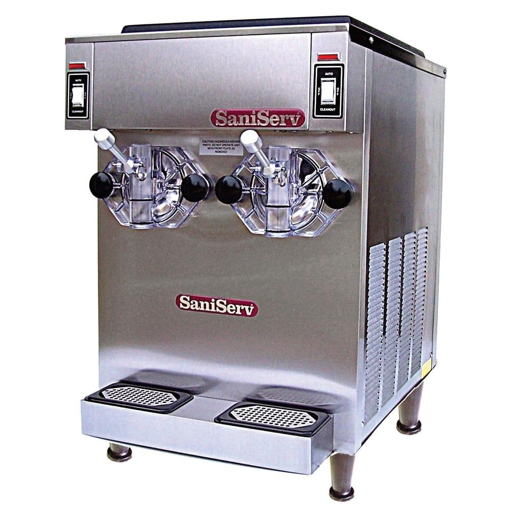 Saniserv 798R Frozen Cocktail Beverage Freezer, 2 Head, 14 qt, Remote