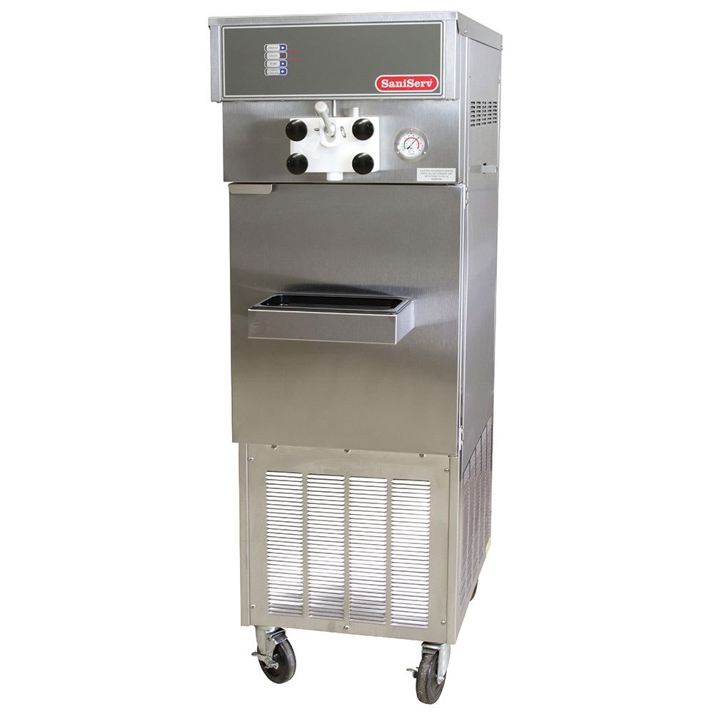 Saniserv 914-ICECREAM Pressurized Soft Serve Ice Cream Machine, 1-Head, 2-HP, 208/1 V