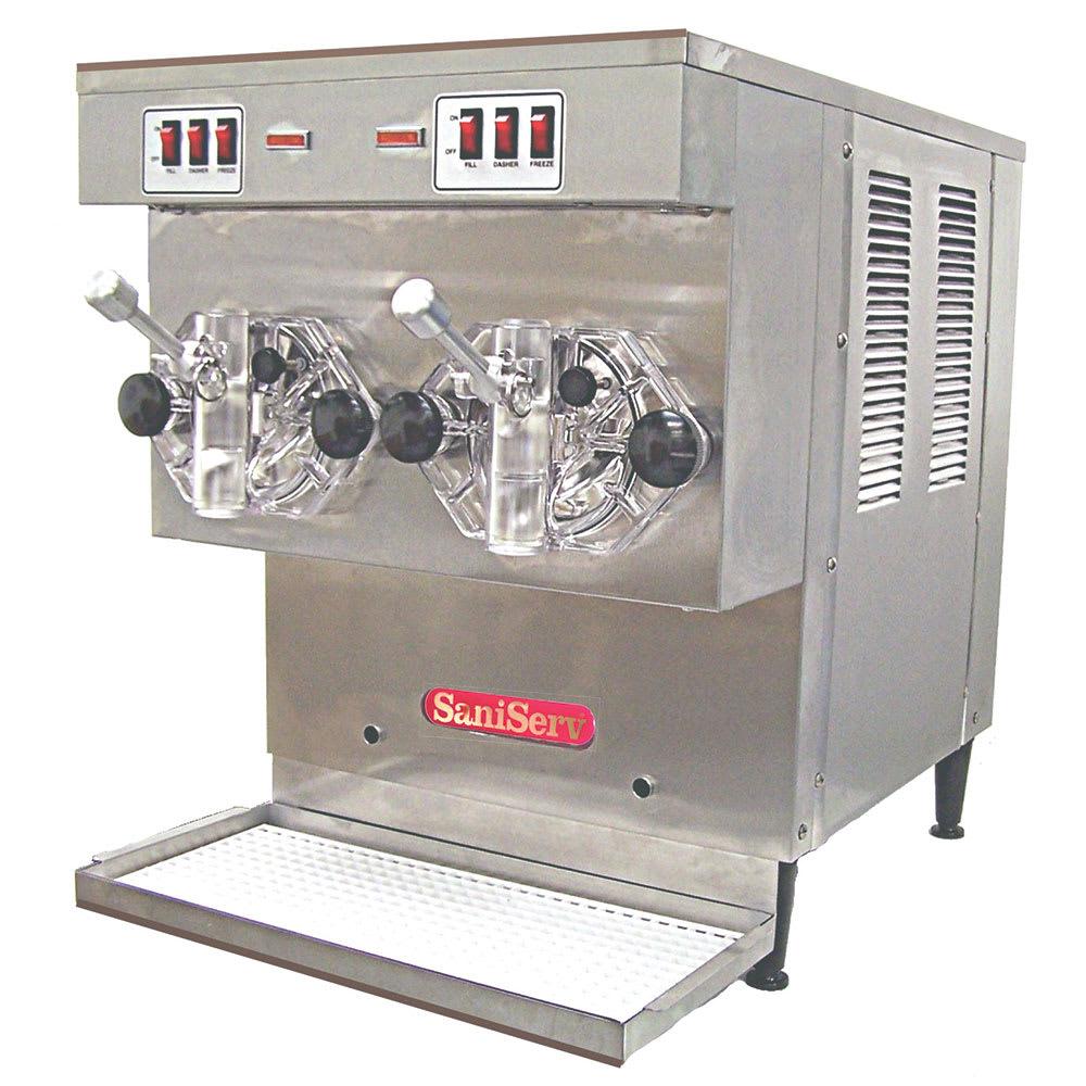 Saniserv WB700-2 Frozen Cocktail Beverage Freezer, 2-Heads, (2) 5-qt, Remote