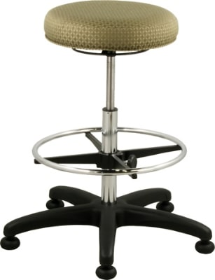 "Ergocraft E-16501-ST 16.25"" Delta Stool w/ 3"" Foam & Footring"
