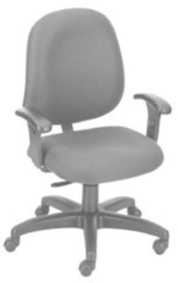 Ergocraft E-31751V Stratus Task Chair w/ Medium Back & 1-Paddle Task Control, Adjustable Seat
