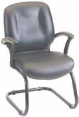 "Ergocraft E-46950-C Zoey Guest Chair w/ Cantilever Base & Medium Back, 37 X 26 X 22"""