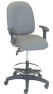 Ergocraft E-50151-ST Palisades Task Chair w/ Medium Back & 2-Paddle Task Control, Stool Conversion