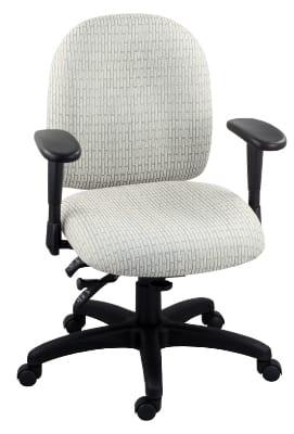 Ergocraft E-50154 Palisades Task Chair w/ Medium Back & 4-Paddle Executive Control