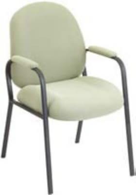 "Ergocraft E-52850-4L Soft Sit Guest Chair w/ Medium Back & 4-Leg Base, 39.25 x 22 x 22"""