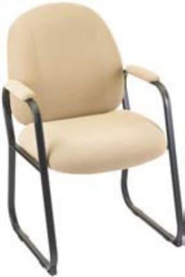 """Ergocraft E-52850-SB Soft Sit Guest Chair w/ Medium Back & Sled Base, 39.25 x 22 x 22"""""""