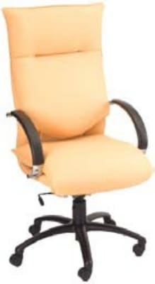 Ergocraft E-66581-KT Executive Conference Chair w/ High Back & 1-Paddle Knee Tilt Control, Manual