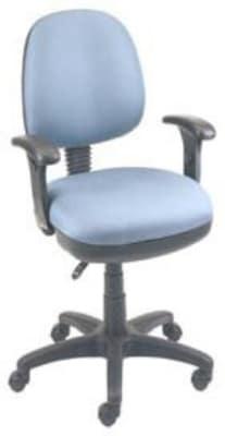 Ergocraft SS-20652 Workmate Task Chair w/ Medium Back, Pneumatic, Adjustable Seat & Back Angle