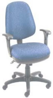 Ergocraft SS-20681 Workmate Task Chair w/ High Back & 1-Paddle Control, Pneumatic
