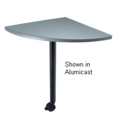 "Ergocraft TS-40450-ALD Desk Height Training Table w/ 1.25"" Top, 72""W x 30""L, Gray Granite"