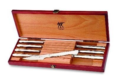 Henckels 39135-850 8-Piece Steak Set w/ Presentation Box, Stainless