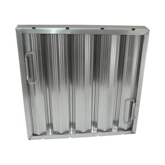 "AllPoints 26-3885 Baffle Filter, Framed, 16x16x2"", Stainless"